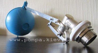 """F.A.R.G.   Поплавковый клапан 1"""" (седло нж.сталь)"""