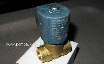 """CEME 8334 NC 1/2"""" Электромагнитный клапан"""