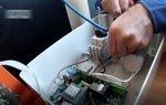 Электроподключение скважинного насоса к пульту DOMINO-UP-M/3HP